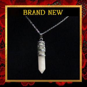 Dragon Rose Quartz Gemstone Necklace #155